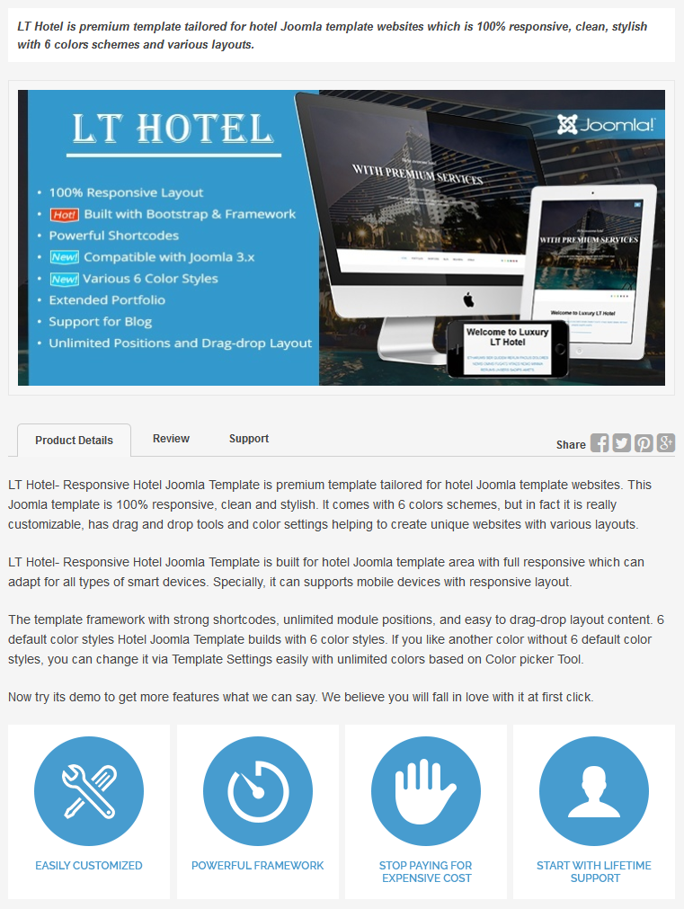 Lthotelresponsivehoteljoomlatemplate for Joomla hotel template